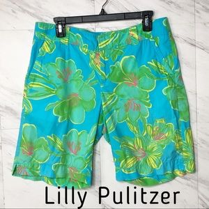 Lilly Pulitzer Resort Fit Bermuda Shorts Size 10